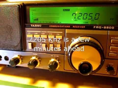 Eritrea on 4700, 5670, 7180 and 7205 Khz
