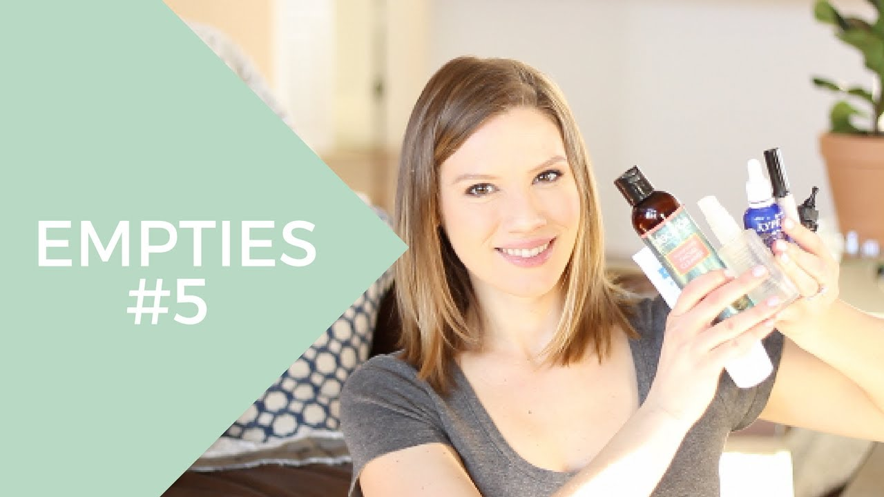 Empties #5 (Non-Toxic Beauty, Hair & Skin Care) // Laura's Natural Life