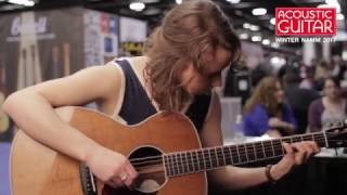Watch Courtney Hartman of Della Mae Fire Off a Fiddle Tune on Bourgeois Guitars' Tony Rice Inspired