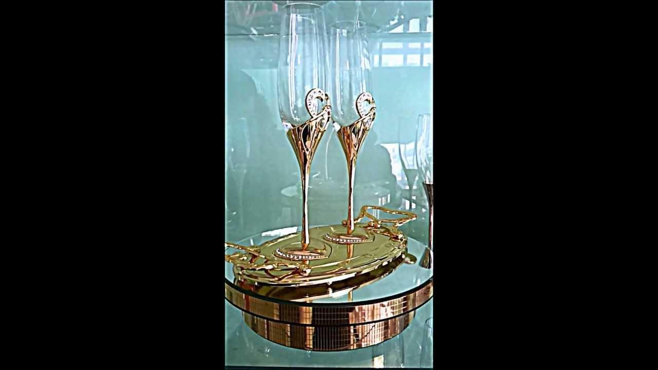 Изделия из металла Свадебные фужера своими руками