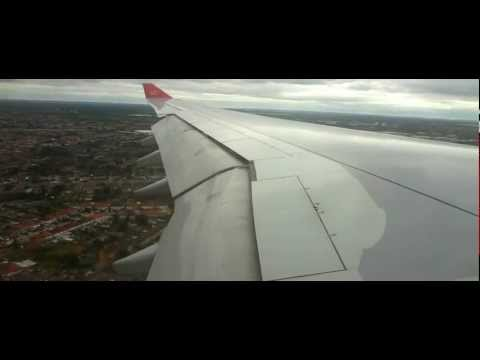 Royal Jordanian A330-223 Approach and Landing London Heathrow 27R from Amman Full HD 1080p EDIT