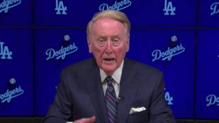Vin Scully and the Pope
