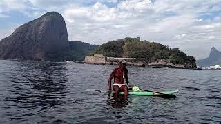 Stand Up Padle no Forte da Lage, ilha da Laje, Ponta de São João, boca da baía de Guanabara2