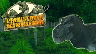 BUILDING AN AWESOME T.REX PADDOCK!!! - Prehistoric Kingdom
