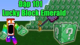 Noob Đập 101 LuckyBlock Ngọc Lục Bảo - 101 Lucky Block Emerald