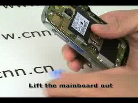 Blackberry Bold 9000 disassembly