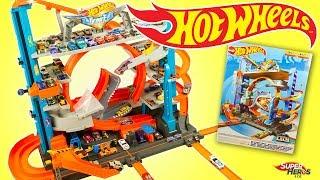 Hot Wheels Méga Garage Ultime Ultimate Garage Jouets Mattel