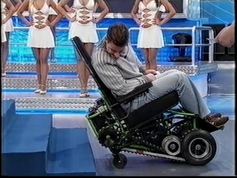 CADEIRA DE RODAS PARA SUBIR ESCADAS CROSS.VOB