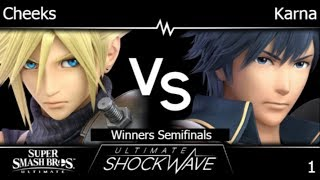 USW 1 - FRKS | Cheeks (Cloud) vs Karna (Chrom, Inkling) Winners Semifinals - SSBU