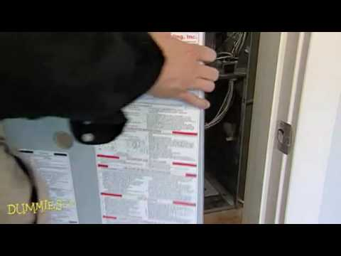 How To Change A Furnace Filter For Dummies Youtube