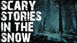 Scary True Stories Told In the Snow | Snowfall Video | (Scary Stories)