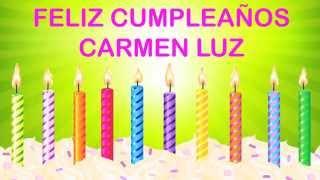 Carmen Luz   Wishes & Mensajes6 - Happy Birthday