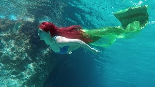 Real-Life Ariel ♥ The Little Mermaid 🐠  Stella the Siren