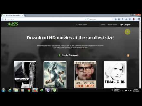 How to download movies from YIFY TORRENT streaming vf