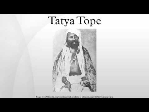 tatya tope Tatya tope sardar is a warrior who created the foundation of indian independence through the independence of 1857 1857 freedom fighter called by the nationalists of.
