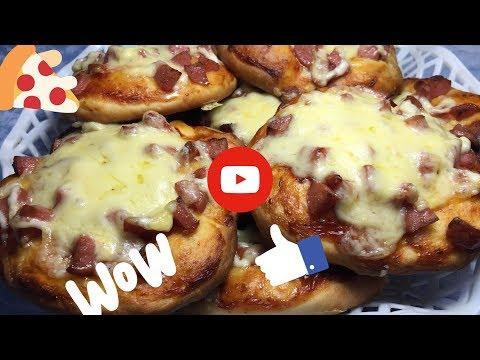Школьная пицца из нашего далекого детства