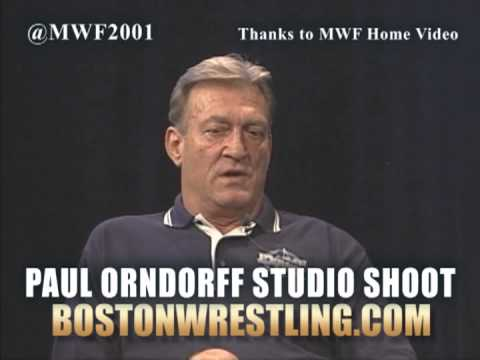 MWF Paul Orndorff Studio Shoot Interview Preview: Jimmy Snuka, Mid-South, Biggest MIstake