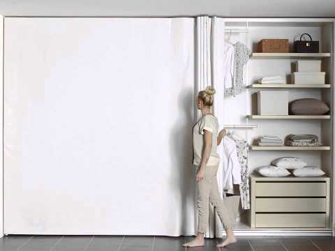 Et Voilà! The only dressable wardrobe in the world!