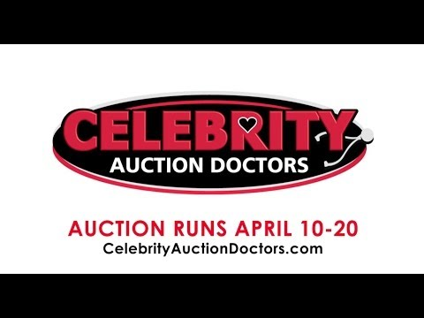 Celebrity Auction Doctors BID NOW Through April 20,2014 American Idol Project Runway Twisted Sister