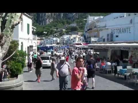 Capri, Italy - Via Cristoforo Colombo