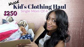 Huge Spring / Summer Children's Clothing Haul / Children's Place / Walmart / Target /