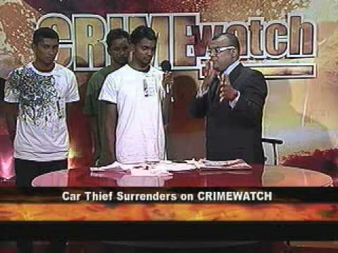 Car Thief Surrender to Ian Alleyne!