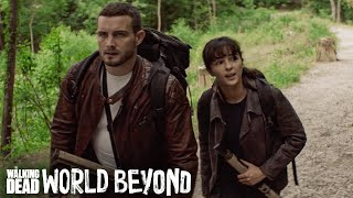The Walking Dead: World Beyond Season 1 Teaser: Trouble