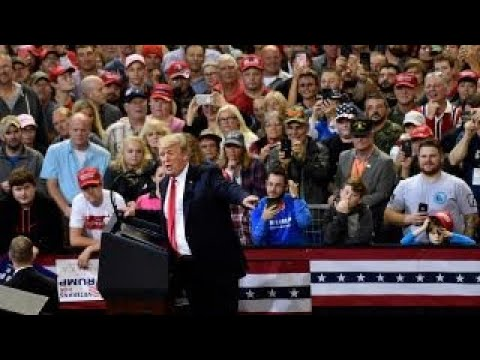 Trump slams Democrats during rally in Iowa