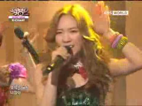 [Music Bank K-Chart] TaeTiSeo (SNSD) - Twinkle (2012.05.04)