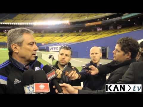 Montreal Impact vs CF Pachuca : Richard Legendre Post Match Press Conference | AFROKANLIFE