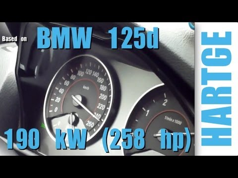bmw 125d f20 test drive with hartge engine upgrade 80. Black Bedroom Furniture Sets. Home Design Ideas