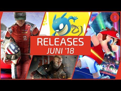 NEUE SPIELE im JUNI 2018 für PS4, Xbox One, Nintendo Switch und PC │ Frisch aufgetischt
