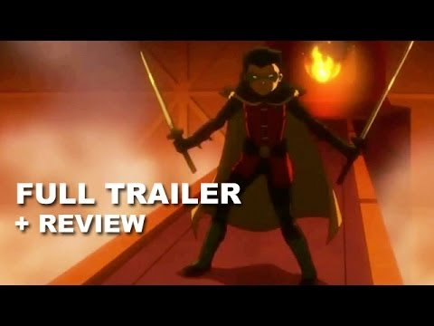 Son of Batman 2014 Official Trailer + Trailer Review : DC Animated Movie - HD PLUS