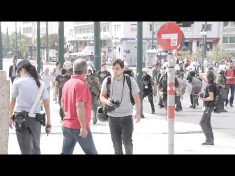 ΣΥΛΛΑΛΗΤΗΡΙΟ ΚΑΤΑ ΜΕΡΚΕΛ (PROTEST AGAINST MERKEL, GREECE) 9-10-2012