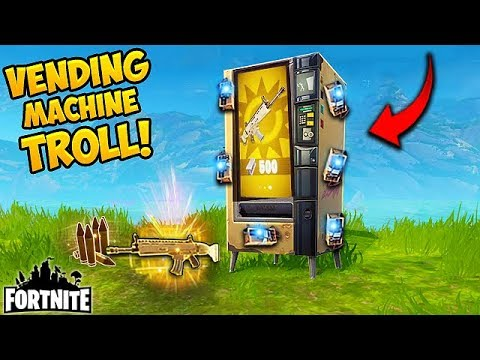 *NEW* VENDING MACHINE TROLL! - Fortnite Funny Fails and WTF Moments! #155 (Daily Moments)