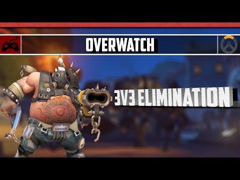 Overwatch - 3V3 Elimination    Destroying Campers!