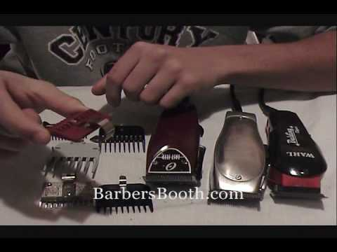 Learn to Get Better Fades! Learn about Clipper Guards Sizes   ADTHEBARBER.COM