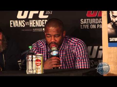 UFC 161 Post-Fight Press Conference Highlights