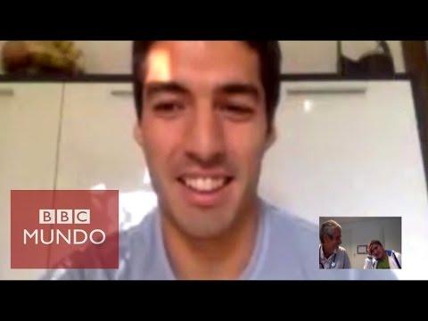 Luis Suárez llama y emociona a un niño con cáncer en Uruguay