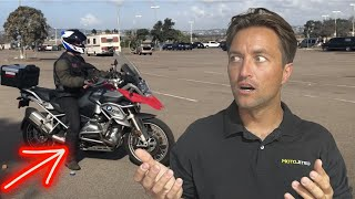 Top 3 Mistakes Riders Make While Panic Braking