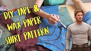 download lagu Diy Tape & Wax Paper Shirt Pattern Star-lord Cosplay gratis