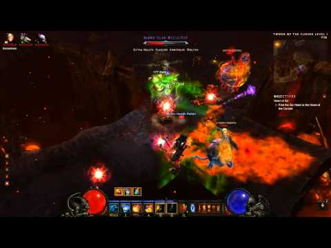 Diablo 3 - Witch Doctor Sacrifice build - zombie dogs no cooldown