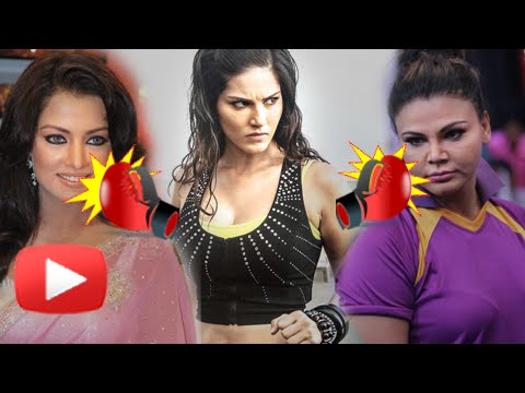 Sunny Leone slams Rakhi, Celina's 'useless' comments!! | Watch Now