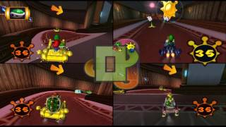 Mario Kart Double Dash!!: Shine Thief: Luigi