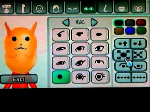 Wii - Canale Mii - Come Creare Pikachu - How to Make Pikachu