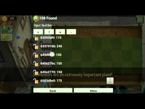 Plants Vs Zombies V6.0.0 Hack Soles infinitos Android + GameCih