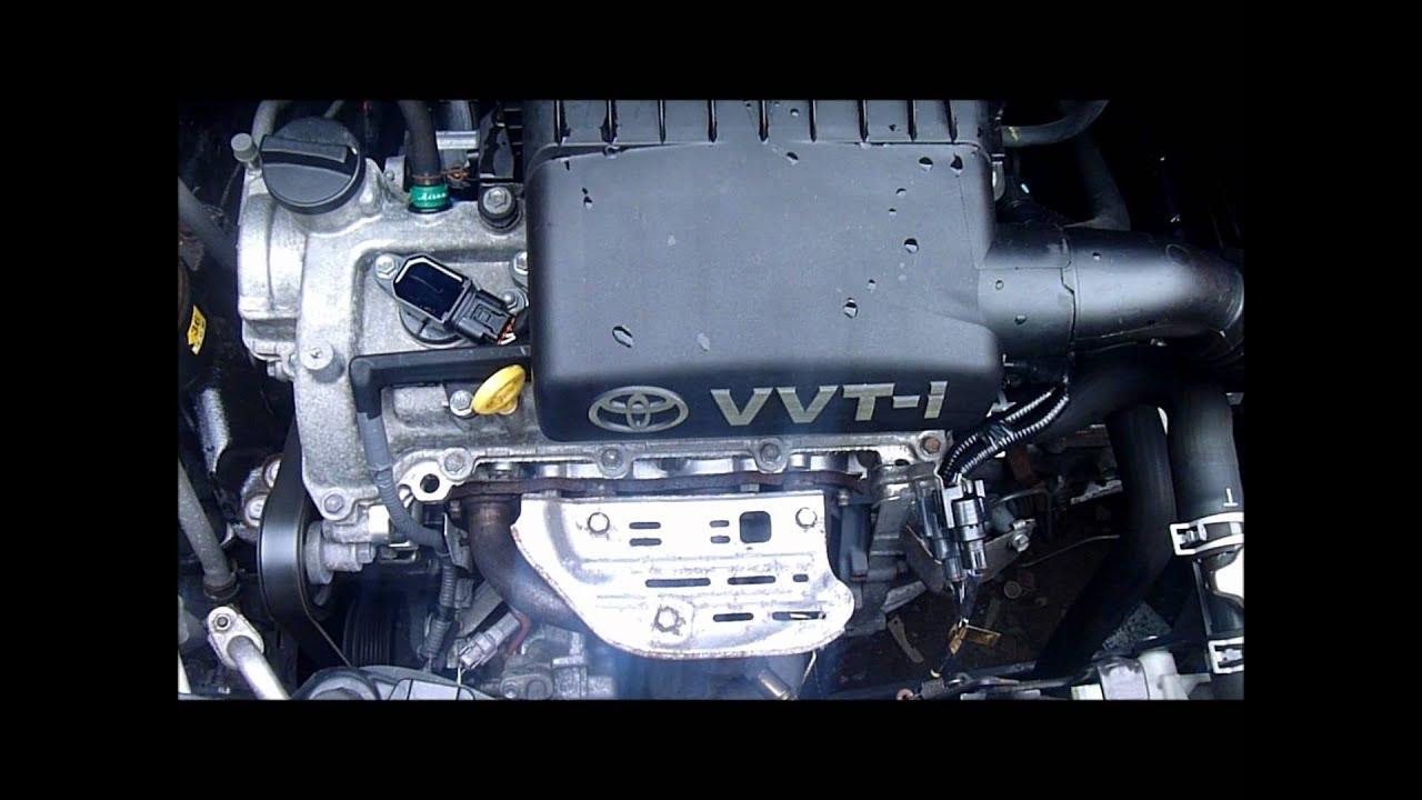 2008 Toyota Yaris 1 3 Vvti Engine 2sz Youtube