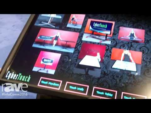 InfoComm 2016: CyberTouch Shows Off Evo MultiTouch Table and Terra Multitouch Table
