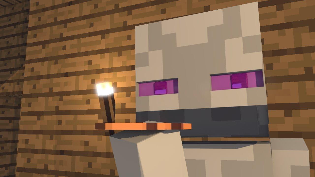 white enderman minecraft animation youtube