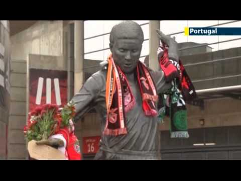 Legendary footballer Eusebio dies aged 71: Benfica and Portugal star Eusebio among all-time greats